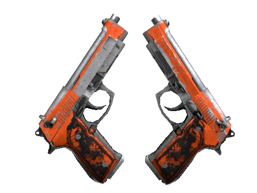 Dual Berettas | Demolition Battle-Scarred