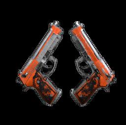 Souvenir Dual Berettas | Demolition (Battle-Scarred)