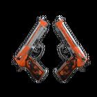 Dual Berettas   Demolition (Battle-Scarred)