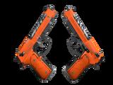 Souvenir Dual Berettas | Demolition (Field-Tested)