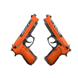 Dual Berettas | Demolition (Well-Worn)