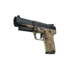 Souvenir Five-SeveN | Contractor (Well-Worn)