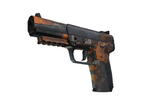 Five-SeveN | Orange Peel Battle-Scarred
