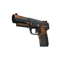 Souvenir Five-SeveN | Orange Peel (Battle-Scarred)