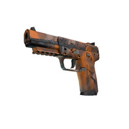 Souvenir Five-SeveN | Orange Peel (Well-Worn)