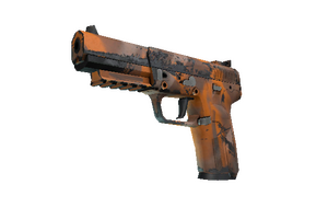 Five Seven Orange Peel Well Worn