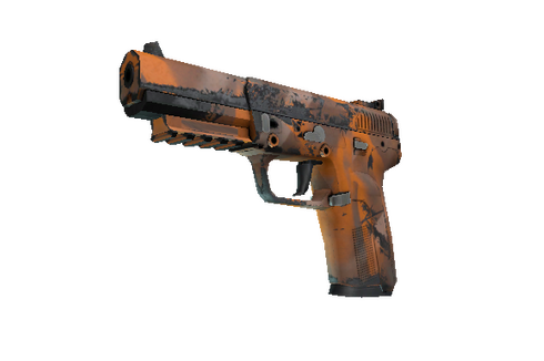 Buy Five-SeveN | Orange Peel (Well-Worn)