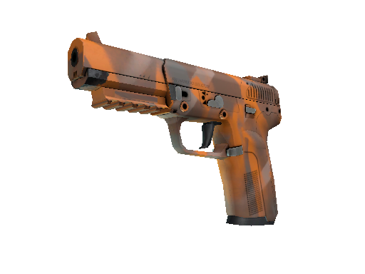 Five-SeveN | Orange Peel (Battle-Scarred)