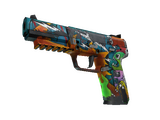 StatTrak™ Five-SeveN | Angry Mob (Battle-Scarred)