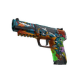 Five-SeveN | Angry Mob <br>(Battle-Scarred)