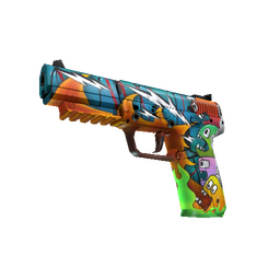 StatTrak™ Five-SeveN | Angry Mob (Factory New)