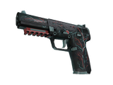 StatTrak™ Five-SeveN | Capillary (Battle-Scarred)