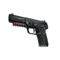 StatTrak™ Five-SeveN | Capillary <br>(Battle-Scarred)