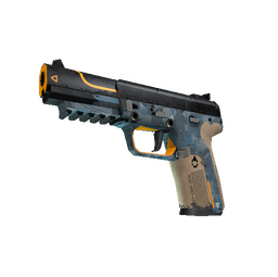 StatTrak™ Five-SeveN | Triumvirate (Well-Worn)