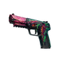Five-SeveN | Hyper Beast (Battle-Scarred)