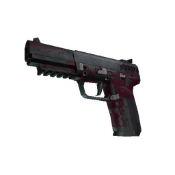 Five-SeveN | Crimson Blossom (Battle-Scarred)