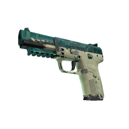 Souvenir Five-SeveN | Coolant (Well-Worn)