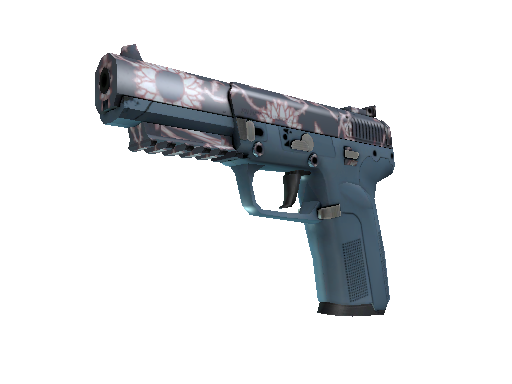 Five-SeveN | Nightshade (Battle-Scarred)