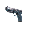 StatTrak™ Five-SeveN | Nightshade <br>(Minimal Wear)