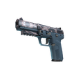 StatTrak™ Five-SeveN | Nightshade <br>(Factory New)