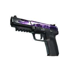 StatTrak™ Five-SeveN | Flame Test (Well-Worn)