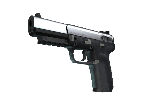 Alpha Five-SeveN Anodized Gunmetal