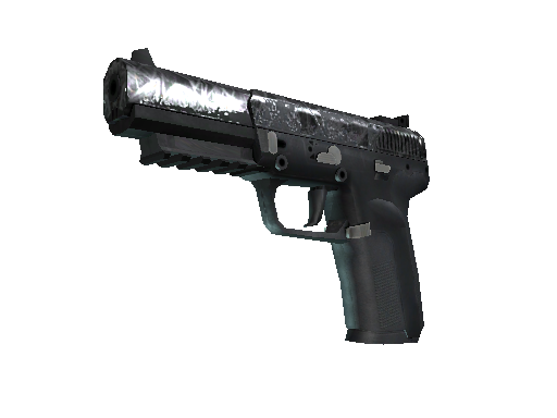 Five-SeveN | Silver Quartz Well-Worn