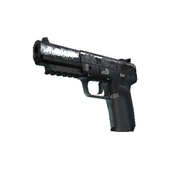 Five-SeveN | Silver Quartz (Well-Worn)