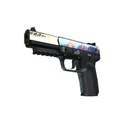 StatTrak™ Five-SeveN | Case Hardened (Well-Worn)