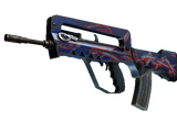 Weapon CSGO - FAMAS Afterimage