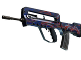 StatTrak™ FAMAS | Afterimage (Field-Tested)