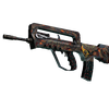 StatTrak™ FAMAS | Eye of Athena <br>(Well-Worn)