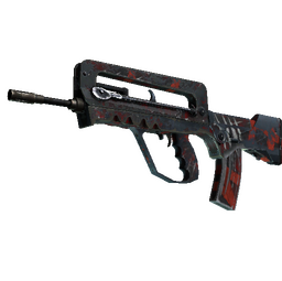 FAMAS | Survivor Z (Battle-Scarred)