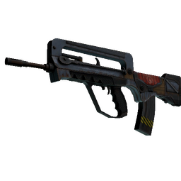 StatTrak™ FAMAS | Decommissioned (Battle-Scarred)