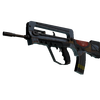 StatTrak™ FAMAS | Decommissioned <br>(Well-Worn)