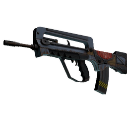 StatTrak™ FAMAS | Decommissioned (Factory New)