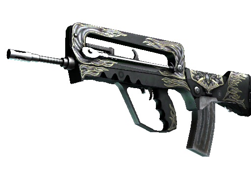 StatTrak™ FAMAS | Djinn (Battle-Scarred)