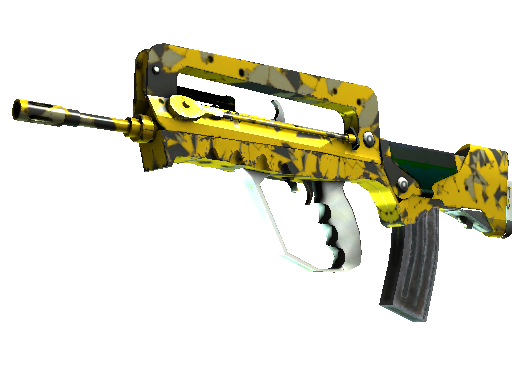 StatTrak™ FAMAS | Neural Net (Battle-Scarred)