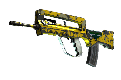 Buy StatTrak™ FAMAS | Neural Net (Field-Tested)