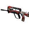 StatTrak™ FAMAS | Roll Cage <br>(Well-Worn)