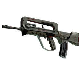 FAMAS | Mecha Industries (Battle-Scarred)