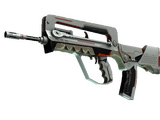 StatTrak™ FAMAS | Mecha Industries (Well-Worn)
