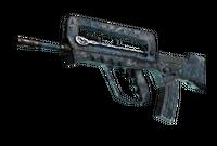 FAMAS | Cyanospatter (Battle-Scarred)
