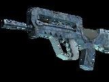 FAMAS   Cyanospatter (Factory New)
