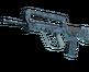 FAMAS | Cyanospatter (Minimal Wear)