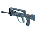 FAMAS | Cyanospatter <br>(Factory New)