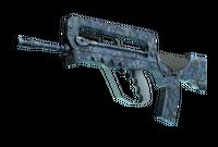FAMAS | Cyanospatter (Factory New)