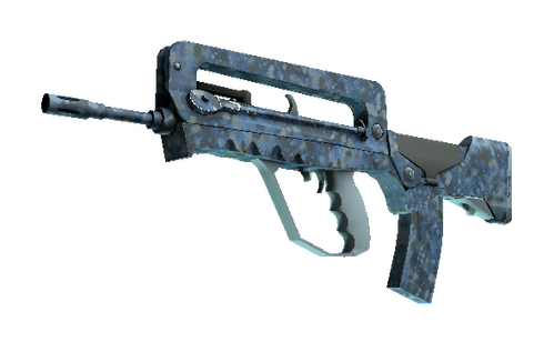 FAMAS | Cyanospatter (Minimal Wear) Prices