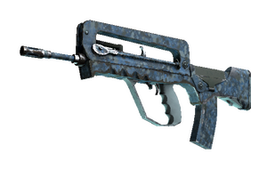 Famas Cyanospatter Well Worn