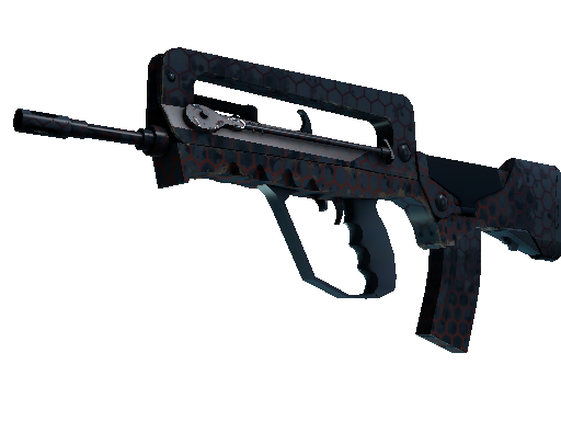 StatTrak™ FAMAS | Hexane (Well-Worn)